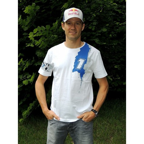 Men's t-shirt - Sébastien Ogier 2014