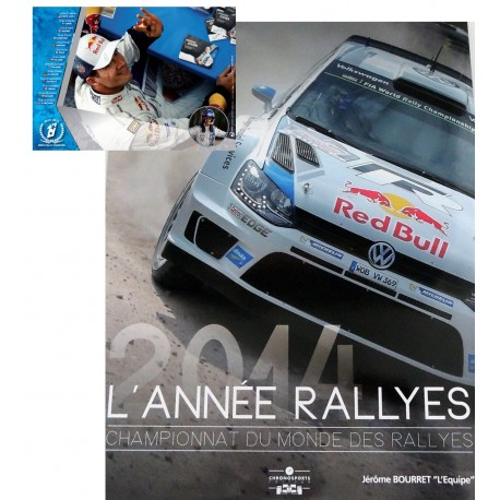 Pack L'année rallyes 2014 + Calendrier 2015