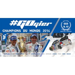 Poster World Rally Champion 2014