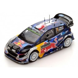FORD Fiesta WRC Spark Vainqueur M-Sport Monte Carlo 2017  S.Ogier - J.Ingrassia