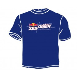 Men's Blue t-shirt - Sébastien Ogier 2018