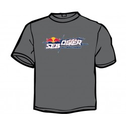Men's Grey t-shirt - Sébastien Ogier 2018