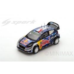 Miniature FORD Fiesta WRC Spark - Ogier-Ingrassia - Rallye Portugal 2017