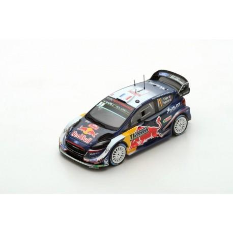 Miniature FORD Fiesta WRC Spark - Ogier-Ingrassia - Rallye Monte-Carlo 2018