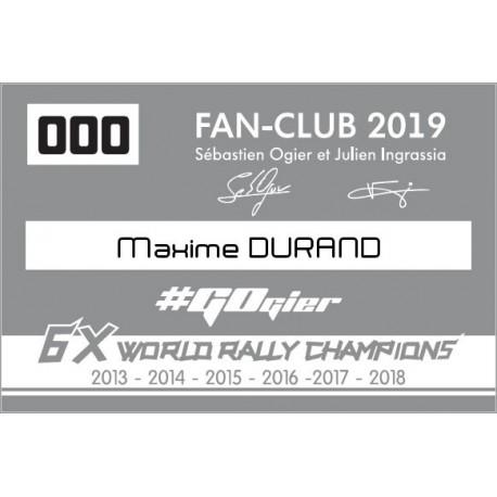 2018 Membership - Adult