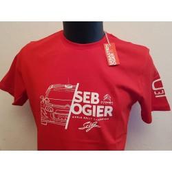 Tee Shirt - Seb OGIER CITROËN 2019 - Homme