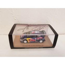 Miniature FORD Fiesta WRC Spark - Ogier-Ingrassia - Rallye Grande Bretagne 2017