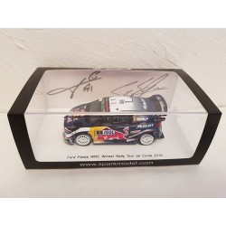 Miniature FORD Fiesta WRC Spark - Ogier-Ingrassia - Rallye Tour de Corse 2018