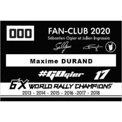 2020 Membership - Adult