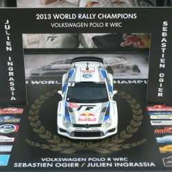 World Rally Champions box: Polo R WRC