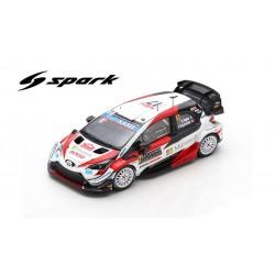 Miniature TOYOTA Yaris WRC Spark - Ogier-Ingrassia - Rallye Monte-Carlo 2020