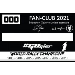 2021 Membership - 2 Adults