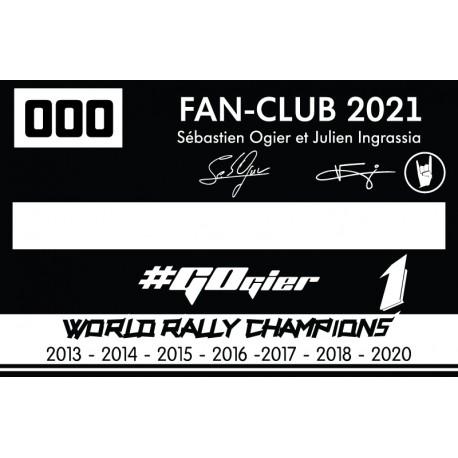 Adhésion 2021 - Couple