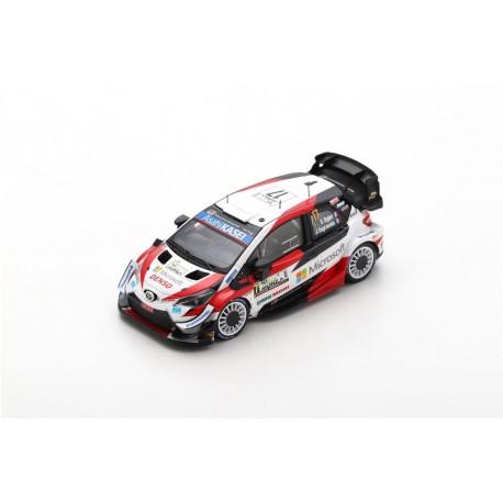 Miniature TOYOTA Yaris WRC Spark - Ogier-Ingrassia - Rallye Monza WRC 2020